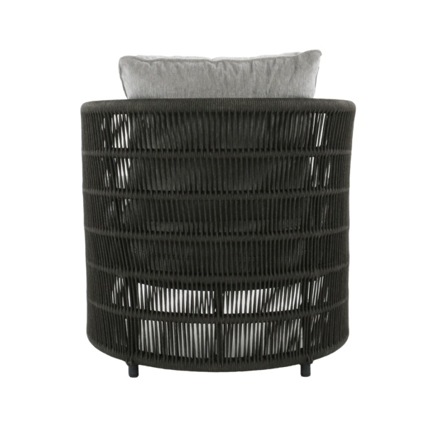 rope patio chair with cushions - Tammy
