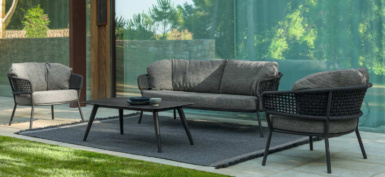 kove aluminium and rope collection in graphite