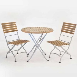 folding outdoor table and chairs diningset