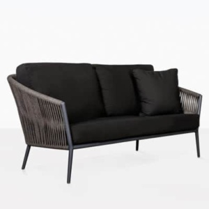 Washington Rope 2 Seater Outdoor Loveseat