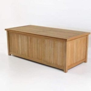 Outdoor Storage Box - Teak Blanket Box