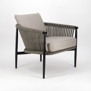 Archi Outdoor Rope Relaxing Chair - Angle View