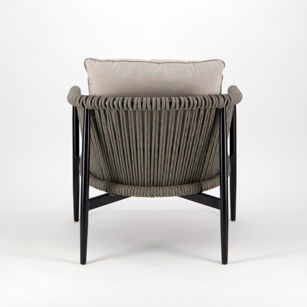 Archi Outdoor Rope Relaxing Chair - Back View