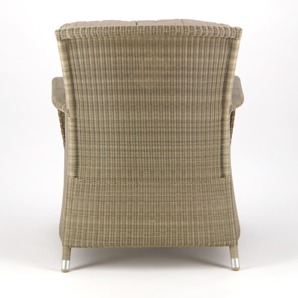 Gilbert Occasional Relaxing Chair Seaside - Rear View