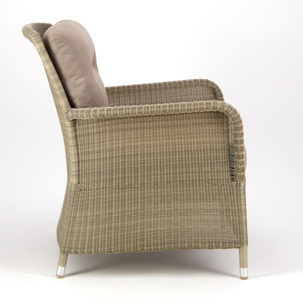Gilbert Occasional Relaxing Chair Seaside - Side View