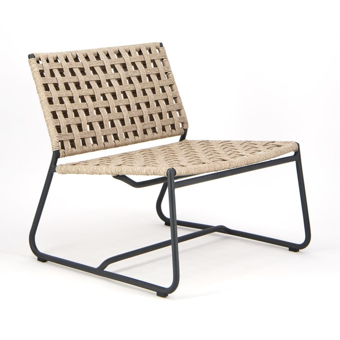 Mayo Outdoor Relaxing Chair - Angle View