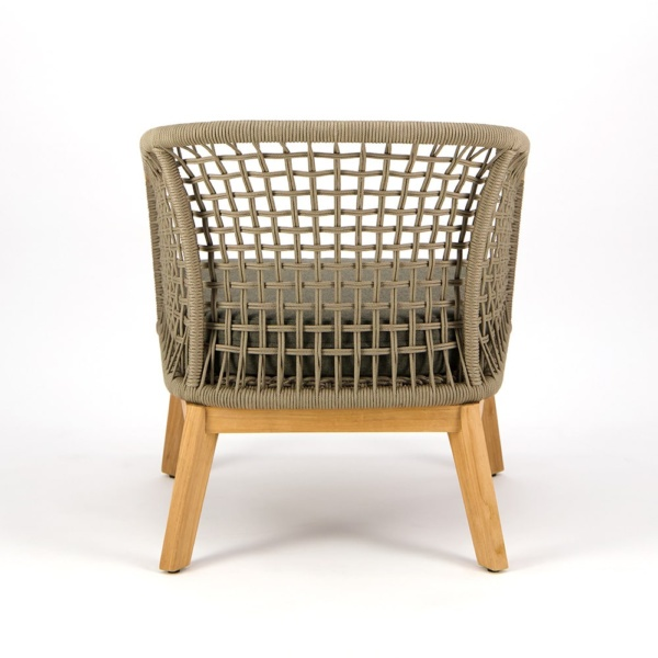 Ravoli Outdoor Rope Relaxing Chair - Rear View