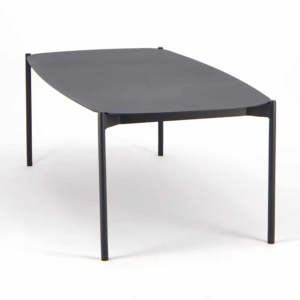 Renovate Outdoor Coffee Table Charcoal - Angle View