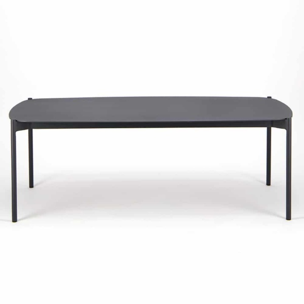Renovate Outdoor Coffee Table Charcoal - Side View
