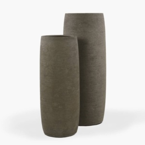 Santorini Concrete Outdoor Planter Set