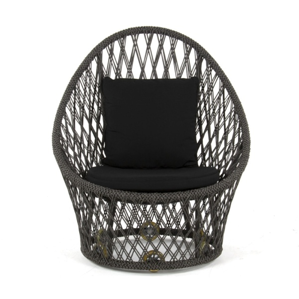 Sunai Open Weave Relaxing Chair - Front View