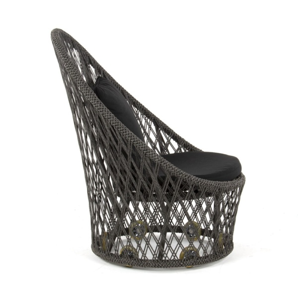 Sunai Open Weave Relaxing Chair - Side View