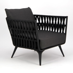 Westchester Outdoor Relaxing Chair - Angle View