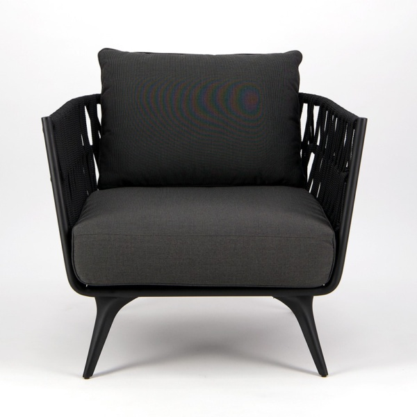 Westchester Outdoor Relaxing Chair - Front View