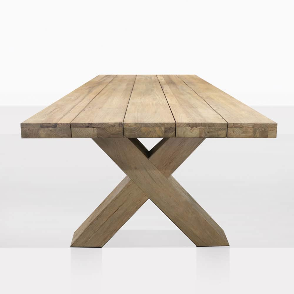 Boxx Reclaimed Teak Outdoor Dining Tables | Design ...