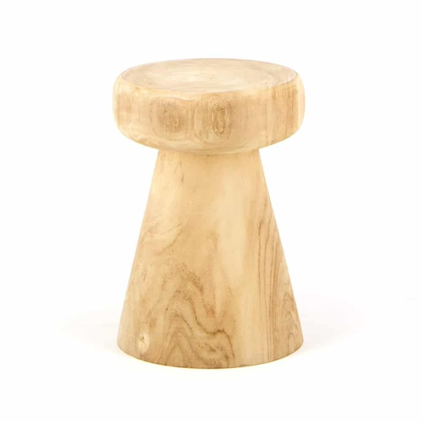 Lolli Teak Accent Table
