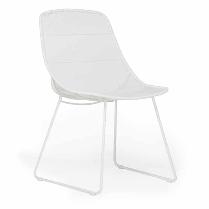 Oliver Dining Side Chair White