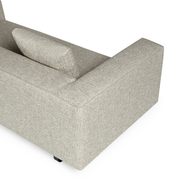 Modena sofa- ponza gesso - arm view