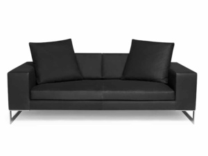 Perfect day sofa luxury nero - front view
