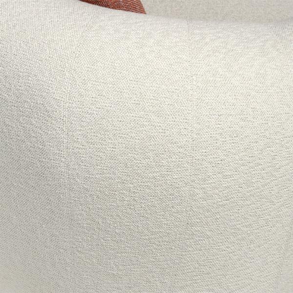 Pisa sofa in cream - closeup view