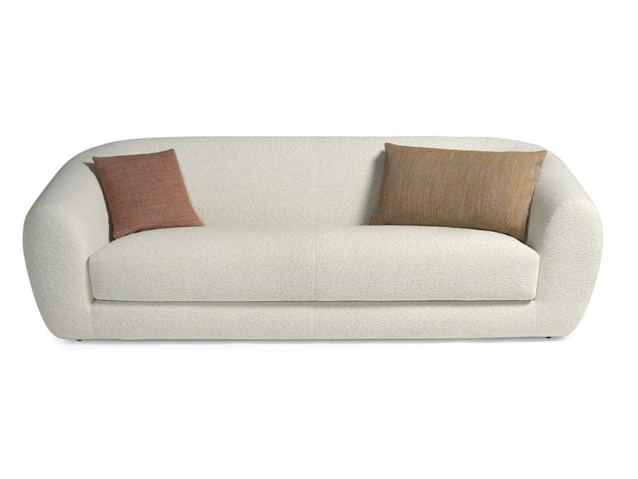 Pisa sofa perseide cream - front view