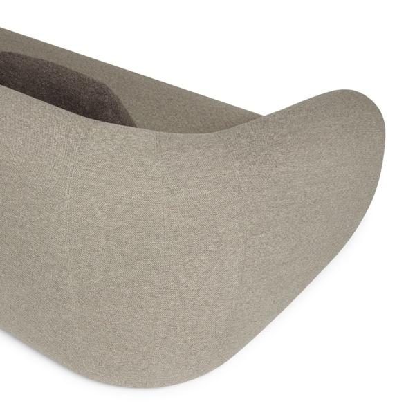 Pisa sofa perseide elephant brown - arm view