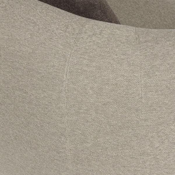 Pisa sofa perseide elephant brown - closeup view