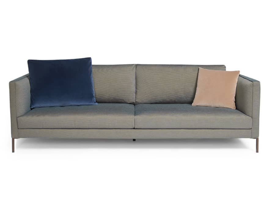 Siena sofa kalami bronze blue - front view