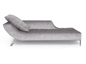 Vice versa chaise lounge fabric sicilia - front view