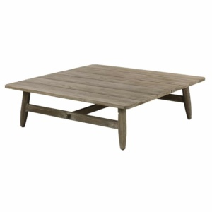 Sutherland Outdoor Teak Coffee Table Square Angle
