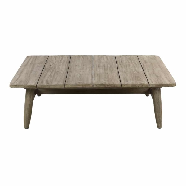 Sutherland Outdoor Teak Coffee Table Square Side
