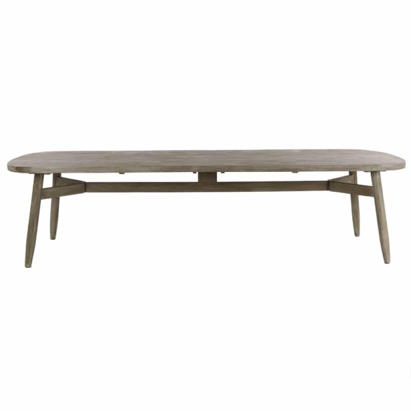 Sutherland Outdoor Teak Dining Table Side
