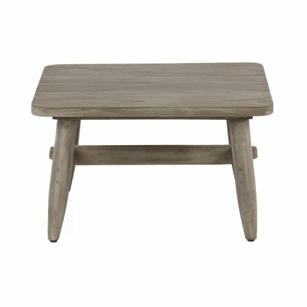 Sutherland Outdoor Teak Side Table Square Side