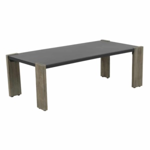 Kava outdoor furniture rectangle coffee table - angle view