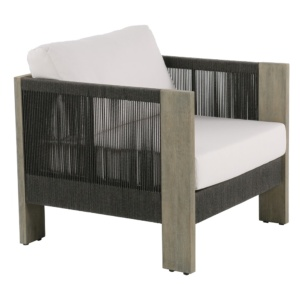 Kava outdoor furniture relaxing chair - angle view