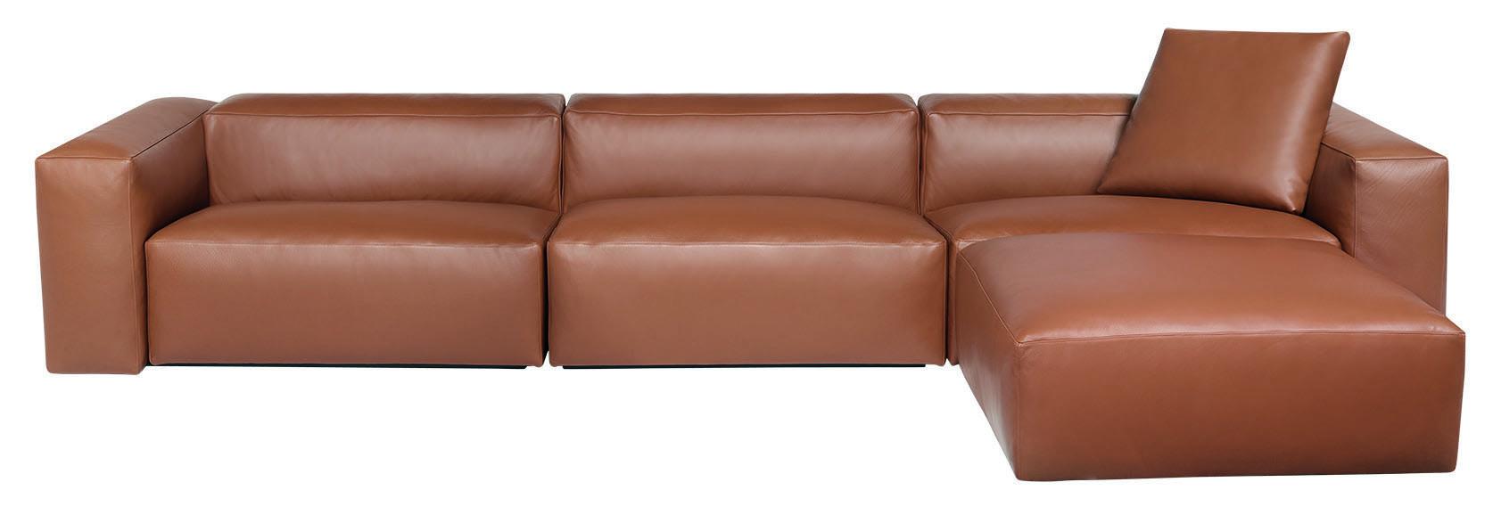 Aspettami Sectional Leather Luxury Indoor Sofa