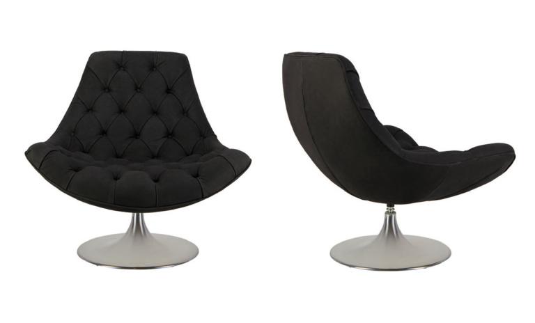 Venezia Luxury Leather Swivel Chair