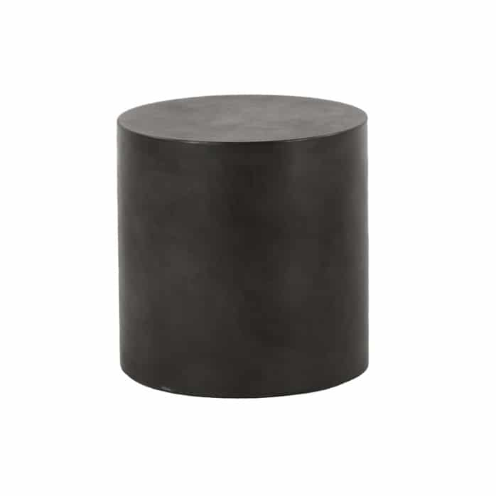 blok-concrete-round-side-table-small-black-front