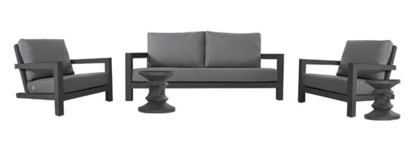 GRANADA OUTDOOR FURNITURE COLLECTION (CHARCOAL)